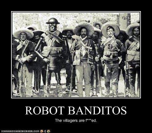 ROBOT BANDITOS