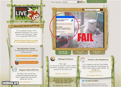 embarrassing,failboat,firefox,g rated,live,mozilla,streaming,technology,web browsers