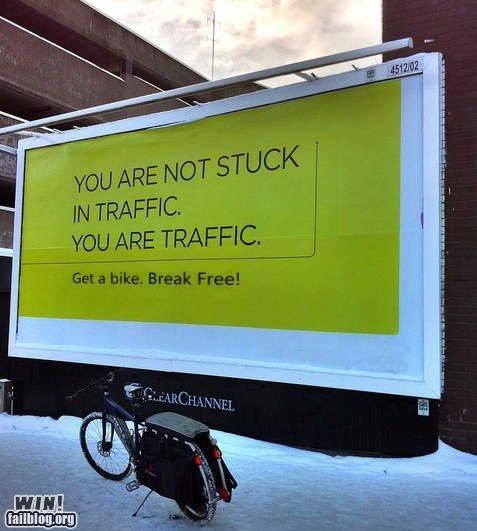 advertisement,bicycle,billboard,hippies,psa