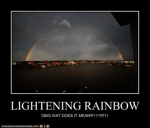 LIGHTENING RAINBOW
