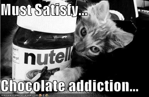 Must Satisfy... Chocolate addiction...