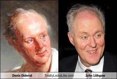 Denis Diderot Totally Looks Like John Lithgow