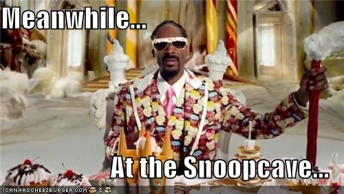 Meanwhile...  At the Snoopcave...