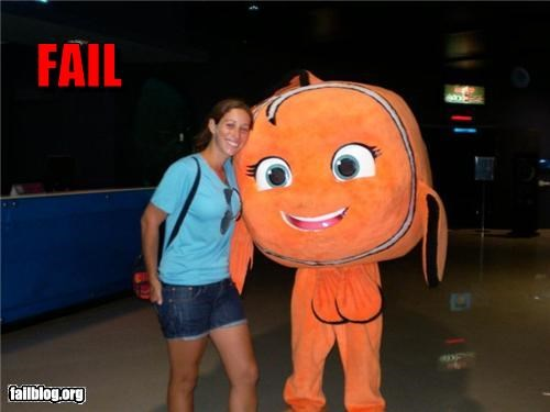 Things That Are Doing It: Nemo Costume Fail