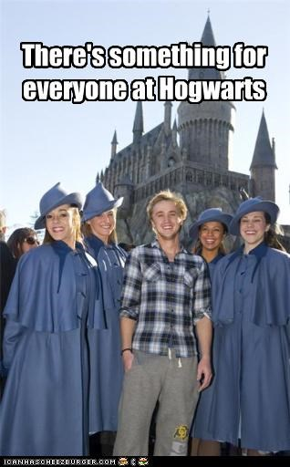 There's something for everyone at Hogwarts