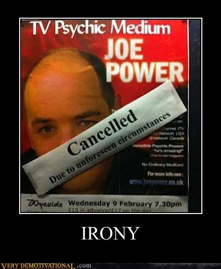 psychic,circumstance,irony,unforseen