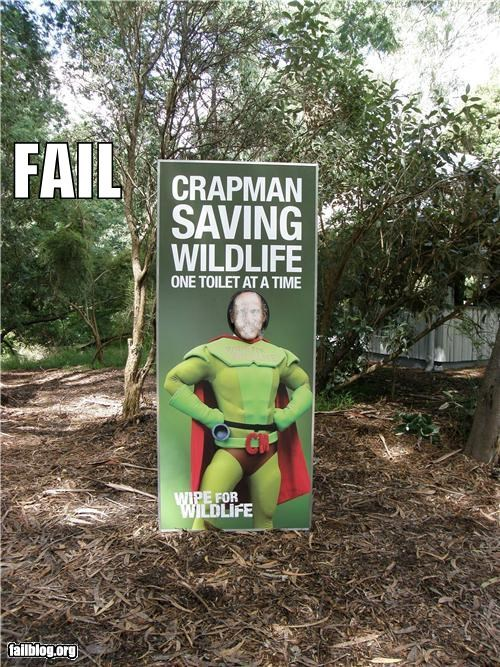 Superhero Fail