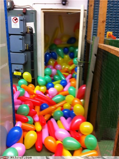 balloon,Office,Party,prank