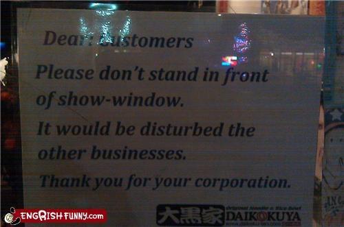 notice,store,window