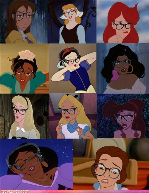 Hipster Disney Girls