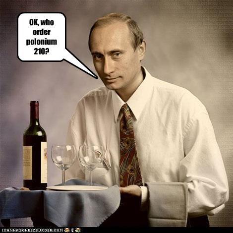 OK, who order polonium 210?