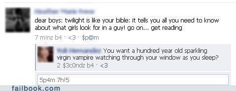 Twilight = Bible for Boys