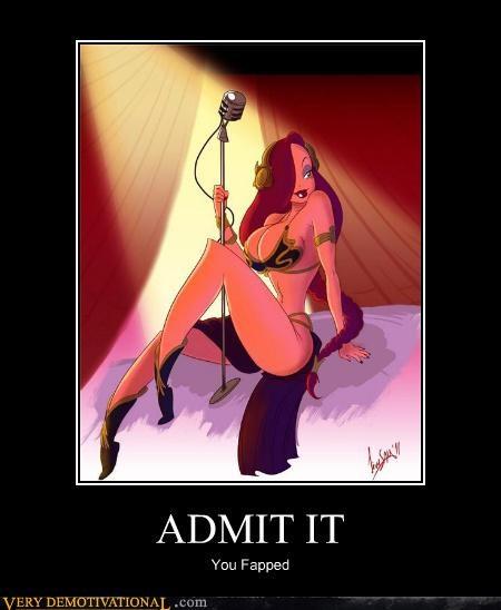 admit,cartoons,jessica rabbit,leia,Sexy Ladies