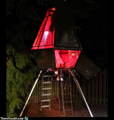 Not-A-Kludge: I'll See Your Treehouse and Raise You a UFO