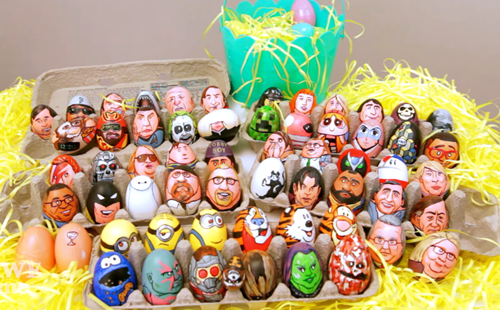 easter,fan art,easter eggs,Video