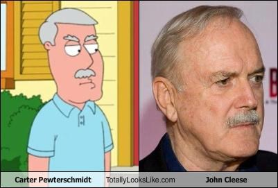 Carter Pewterschmidt Totally Looks Like John Cleese