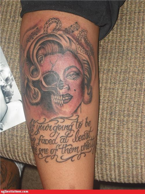 """And if """"Your"""" Going to Get a Tattoo with Text in it . . ."""