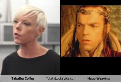 Tabatha Coffey Totally Looks Like Hugo Weaving