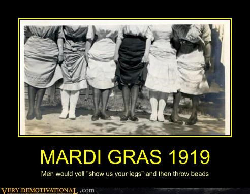 Mardi Gras,old timey,beads,bees?
