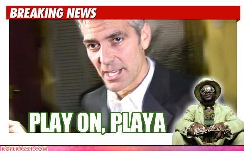 actor,celeb,funny,george clooney,news,pimp