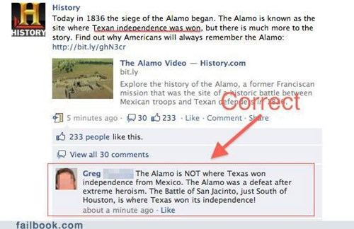 History Channel FAIL