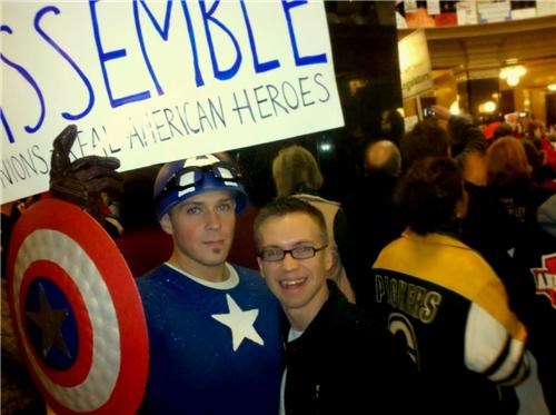 Nerdery in Wisconsin Protests