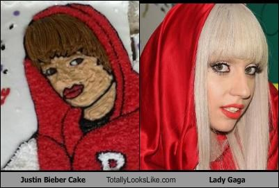 Justin Bieber Cake Totally Looks Like Lady Gaga