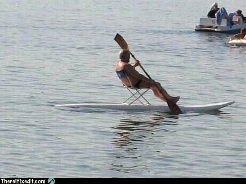 Who Said Surfing Was Hard?