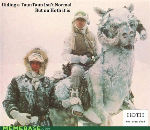 Hoth. Not Even Once