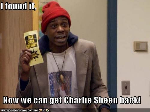 I found it,  Now we can get Charlie Sheen back!