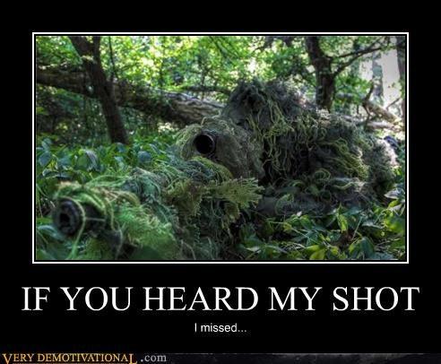 IF YOU HEARD MY SHOT