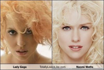 Lady Gaga Totally Looks Like Naomi Watts