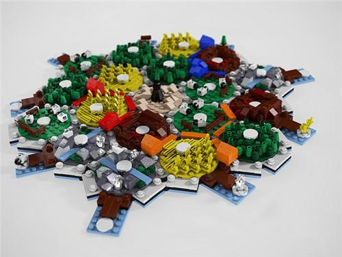 Settlers Of LEGO Catan Of The Day