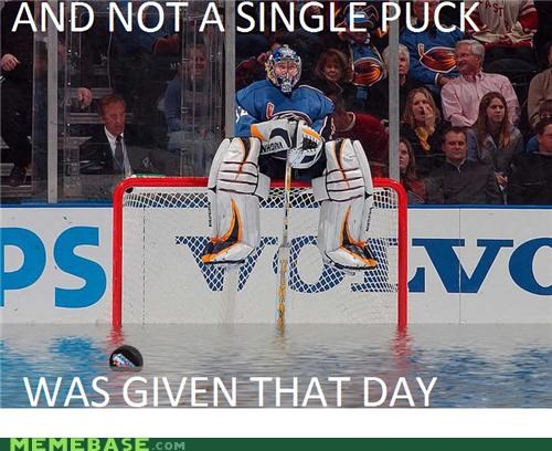 And Not a Single Puck