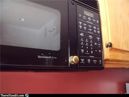 in the kitchen,microwave,unnecessary,wtf