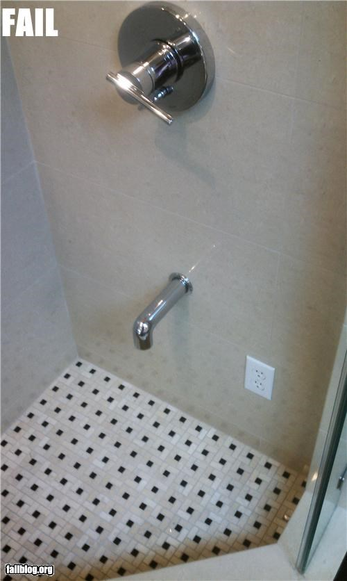 Shower Safety Fail