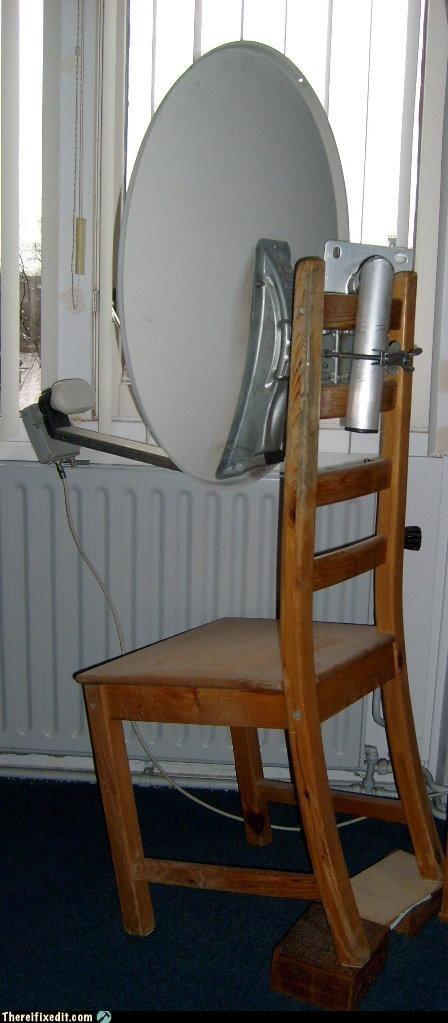 high quality installation,Professional At Work,satellite dish