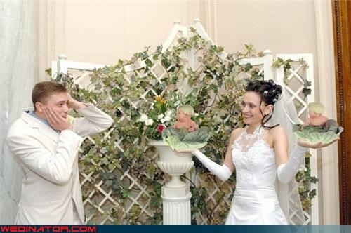 anne geddes,bad photoshop,cabbage patch,funny wedding photos,photoshop,Russian wedding