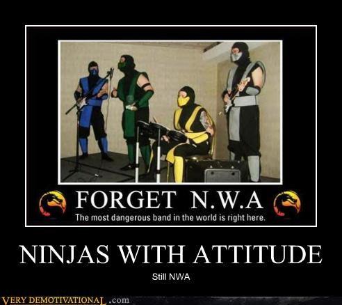 NINJAS WITH ATTITUDE
