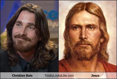 actors,beards,christian bale,hair,Hall of Fame,jesus,religion