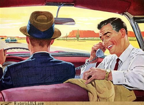 Vintage Future: Car Phones