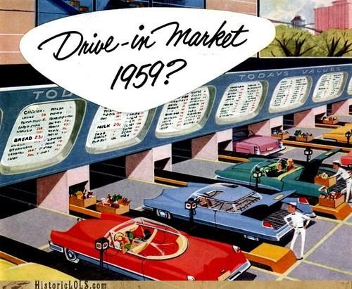 Vintage Future: Drive-in Market