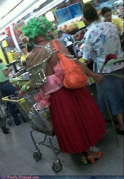 green,orange,pink,purse,store,wig,wtf