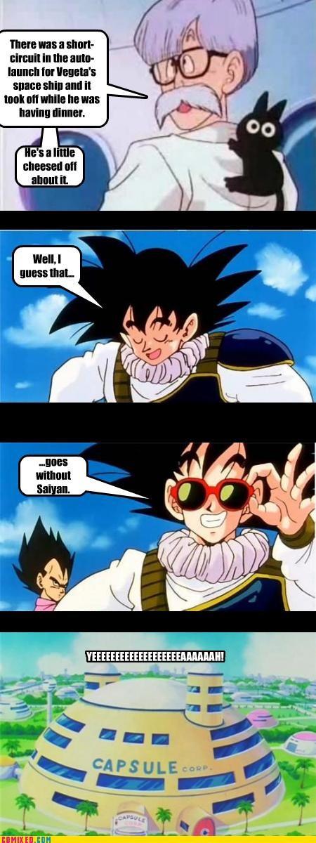 bad joke,csi miami,Dragon Ball Z