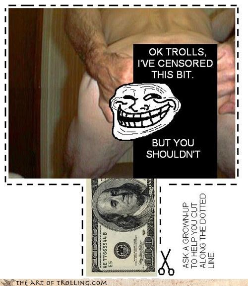 IRL Free Money Surprise Troll