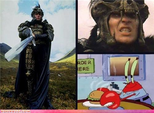 The Kurgan Is Mr. Crabs?! Mind=Blown