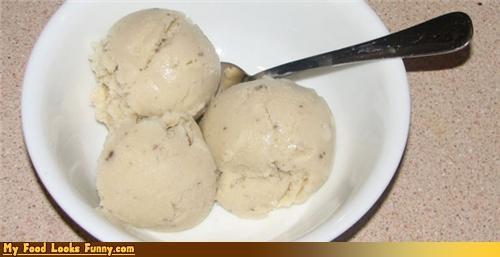 cream of mushroom,frozen,ice cream,scoops,soup