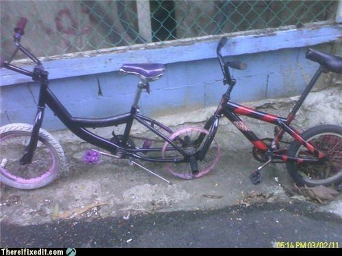 bicycle,dual use,frankenstein,wtf