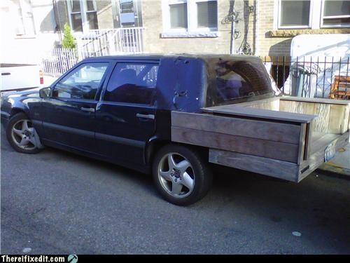 Volvo or Pickup?
