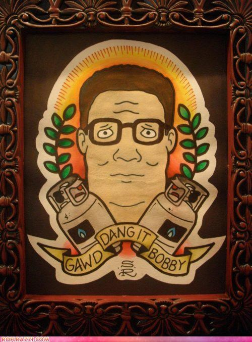 art,cool,funny,hank hill,King of the hill
